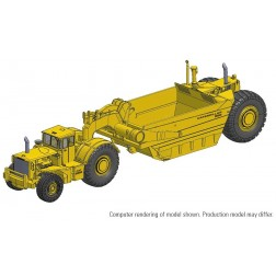 Cat 666 80-Ton Wheel-Tractor Scraper – Die-cast-PREORDER-Price, Production run and Production year to be determined