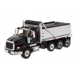 International HX620 Dump Truck in Black with Silver Grey Bed-PREORDER