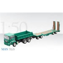 "MAN TGS WITH GOLDHOFER TRAILER ""HANS PREIS NEULOHE"""