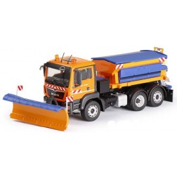 MAN TGS EURO 6 WITH SNOWPLOW AND SPREADER UNIT