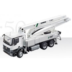 SCHWING S 36X CONCRETE PUMP ON MERCEDES 3 AXLE AROCS