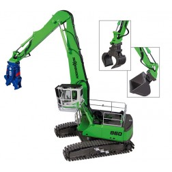 Sennebogen 860 HD with 3 attachments included
