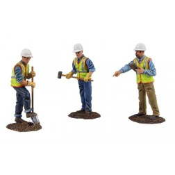 Metal Construction Figures