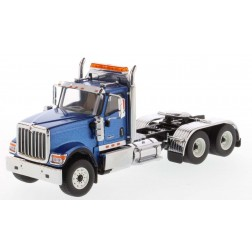 International HX520 Day Cab Tandem Tractor in Metallic Blue - Cab Only-PREORDER