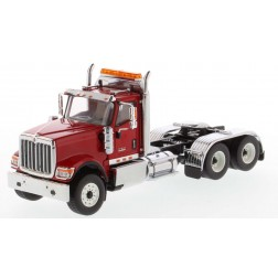 International HX520 Day Cab Tandem Tractor in Red - Cab Only-PREORDER