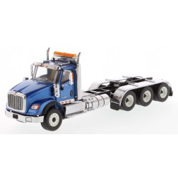 International HX620 Day Cab Tridem Tractor in Metallic Blue - Cab Only-PREORDER