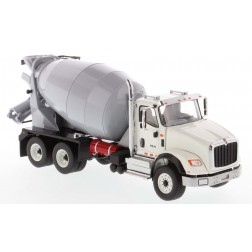 International HX615 Concrete Mixer in White with Light Grey Mixer Drum-PREORDER