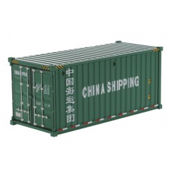 China Shipping - 20' Dry Goods Shipping Container