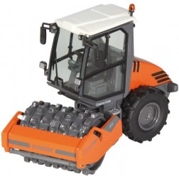 HAMM H7I Enclosed ROPS Compactor with pad foot drum