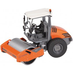 HAMM H7I Open ROPS Compactor with smooth roller drum