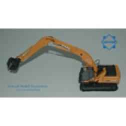 Case CX 240 B track excavator/grab