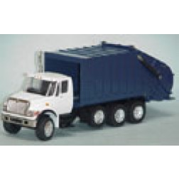International Harvester 7000 garbage truck blue
