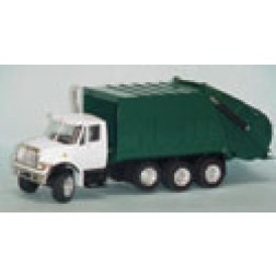 International Harvester 7000 garbage truck green
