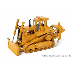 Cat D9L Track-Type Tractor with Push Blade/Ripper – Die-Cast