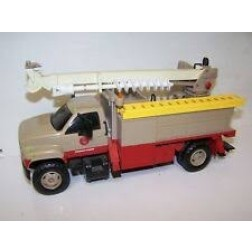 "GMC UTILITY DIGGER DERRICK TRUCK (PLASTIC)-""VIRGINIA POWER"""