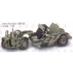 Cat 623G scraper camouflage