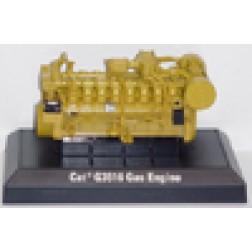 Cat G3516 gas engine on base