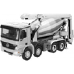 Mercedes Actros 4 axle mixer w/conveyor belt