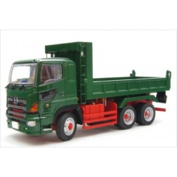 HINO PROFIA DUMP TRUCK 6x4 GREEN MADE BY KEN KRAFT-LIMITED EDITION