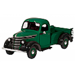 1938 International D2 pickup green/black