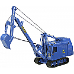 Menck Typ M 90 cable backhoe