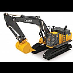John Deere 470 G LC metal track excavator