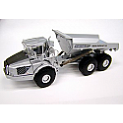 2006 issue silver Volvo A40D articulated dump truck