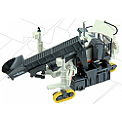Wirtgen sp 15 slip form paver with auger