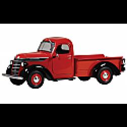 1938 International D 2 pick up red/back
