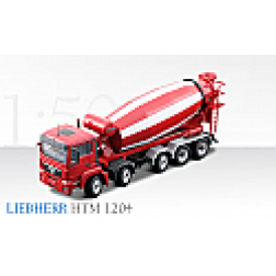 MAN TGS 5 axle truck with Liebherr HTM 1204 mixer