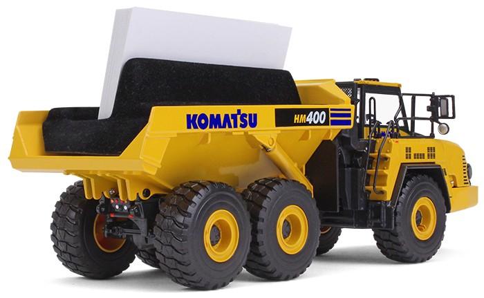 Komatsu hm400 5 articulated dump truck with business card holder komatsu hm400 5 articulated dump truck with business card holder colourmoves