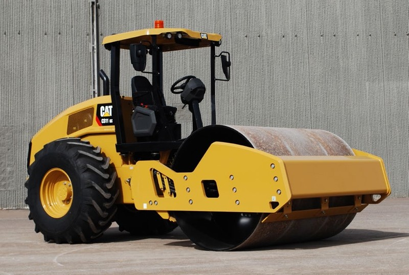 Caterpillar Cs11 Gc Vibratory Soil Compactor Diecast