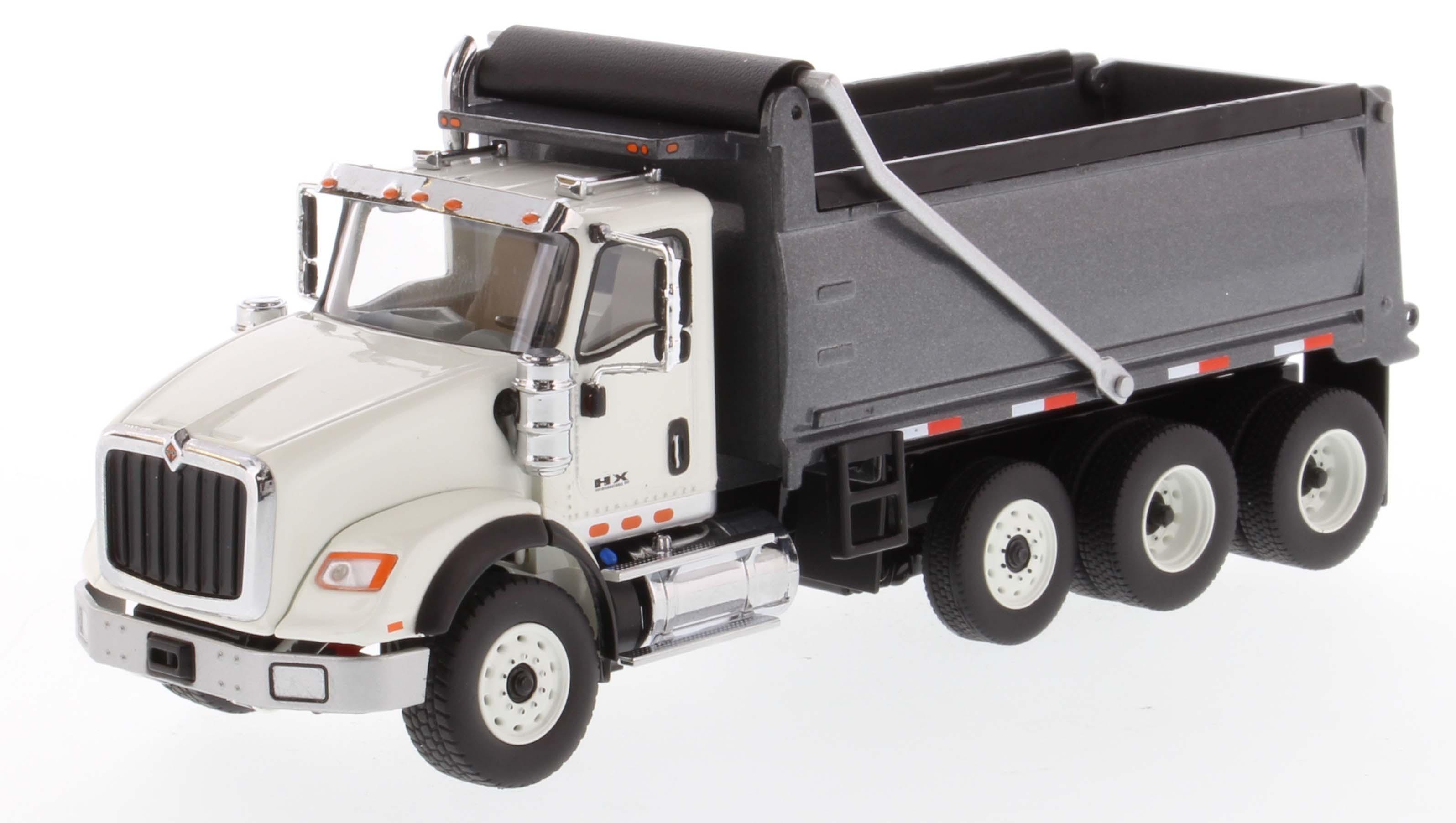 International HX620 Dump Truck in White with Gun Metal ...