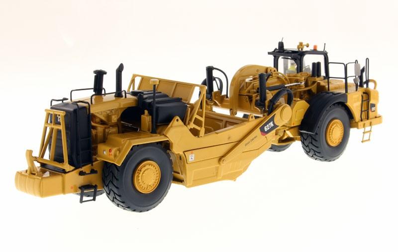 Caterpillar Decals Heavy Equipment >> Caterpillar 627K Wheel Tractor-Scraper - High Line Series - DieCast Masters - Product Manufacturers
